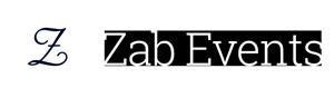 Zab Events Sticky Logo